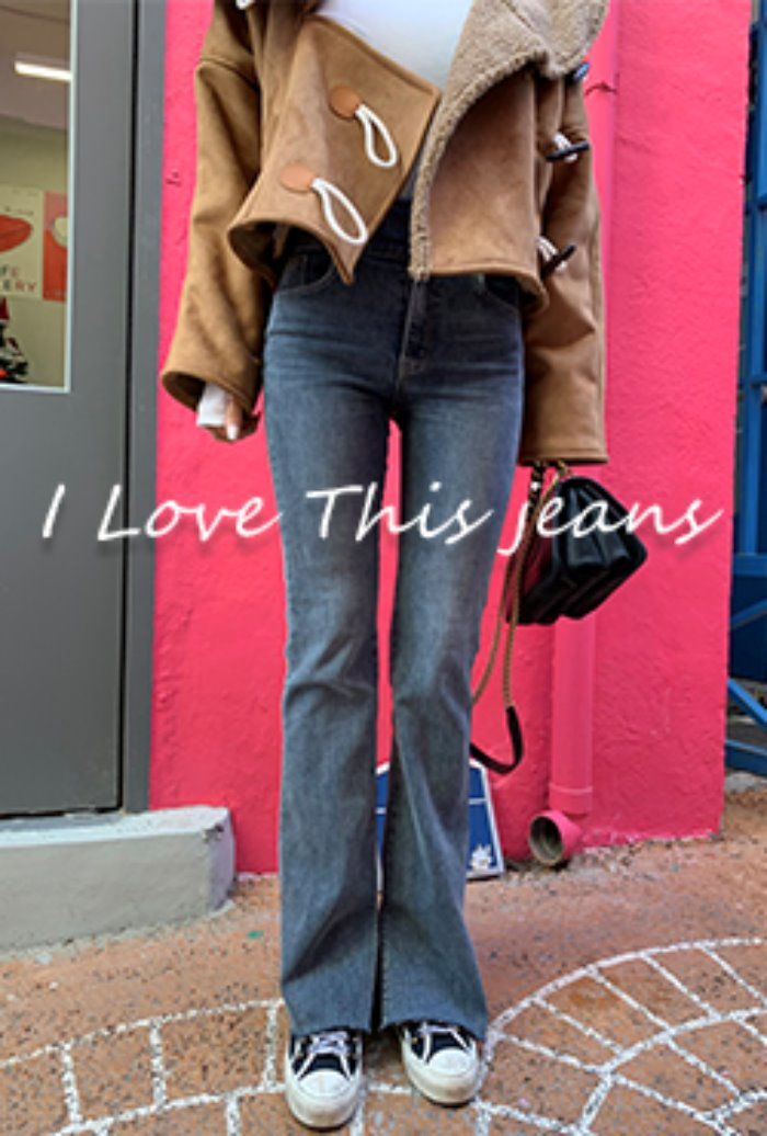 (5차/당일배송) I love this jeans ver.24 : Crazy boots cut