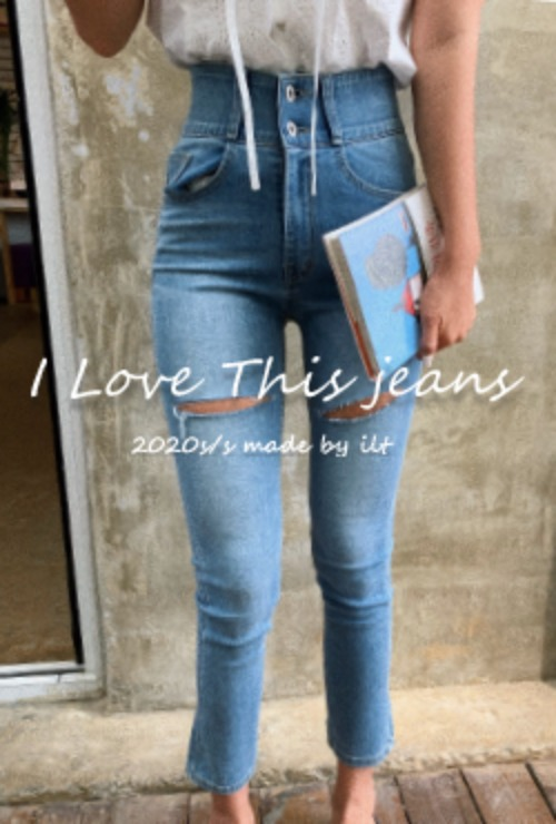 (당일배송)I love this jeans ver.16: scratch denim